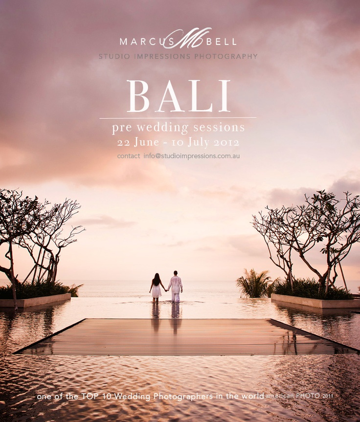 "In my dreams~""Bali Love"" Pre-wedding Shoots in Bali with Marcus Bell"