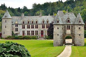 Château de Nacqueville. Urville-Nacqueville 50460. Normandie.