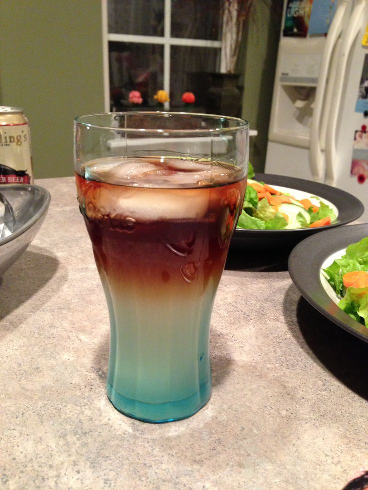 Dark and stormy seagrams spicy ginger ale with kraken