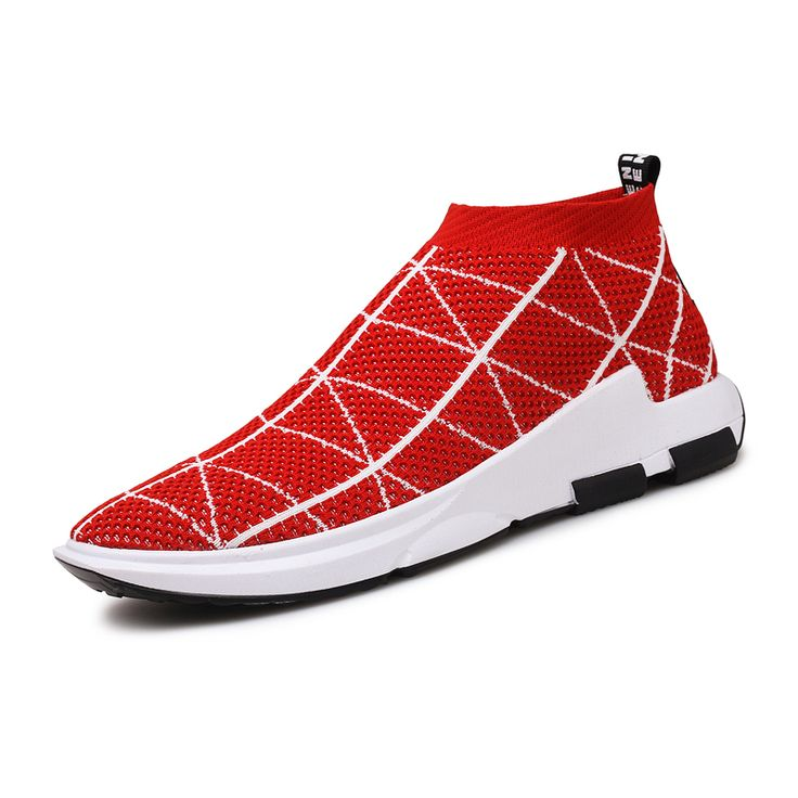 2017 New Male red black sock Sports Flyknit Racer Running Shoes For Men high tops Breathable Men's Athletic Sneakers zapatillas //Price: $US $23.01 & FREE Shipping //     #basketballshoes #mensathleticshoes #mensfashionsneakers #womensathleticshoes #womensfashionsneakers #womenssportshoes #mensportsshoes #mensactivewear #mensrunningshoes #womenswalkingshoes