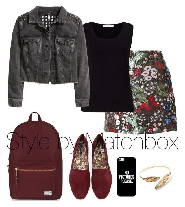 """Jean + floreado"" by maria-cecilia-gatti on Polyvore"