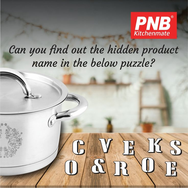 One of our PNB Kitchenmate product is hidden in this jumble. Can you guess the #product in the below puzzle?👇👇#kitchenset #kitchenlife #kitchen #kitchendesign #kitchenaid #kitchenremodel #kitchener #best #newmodel #new #newproducts #hard #pressurecooker #mykitchen #mykitchenrules #my #models #models1 #modelos #cook #cooking #cookingtime #jumble #puzzle