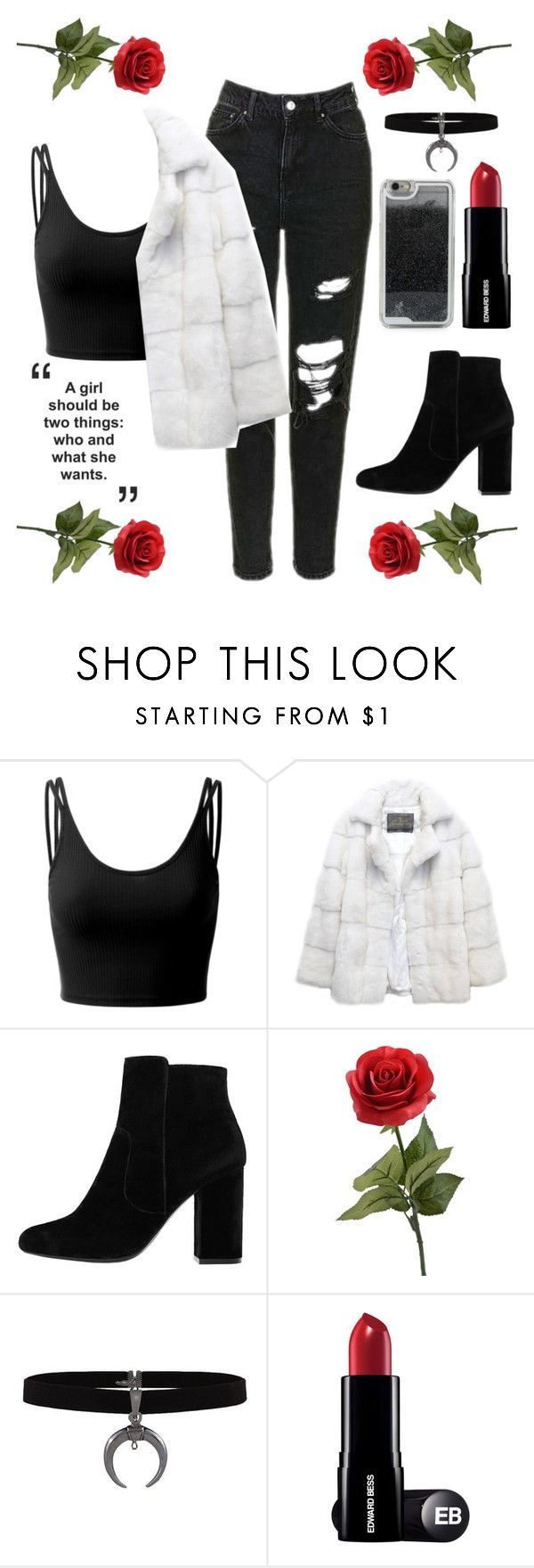 """""""Roses"""" by zidith ❤ liked on Polyvore featuring Doublju, Lilly e Violetta, MANGO and LMNT"""