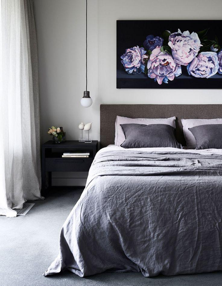 graues schlafzimmer mdchen schlafzimmer hauptschlafzimmer the design files schne schlafzimmer schlafzimmerdesign schlafzimmer ideen - Schlafzimmerideen Des Mannes Grau