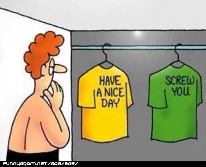 how to choose what to wear men morning funny