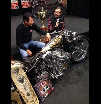 Ken's Factory Japan Built with a Thomson Supercharger Verona Italy Motorbike Expo 2014 Best of Show https://www.facebook.com/Thomsonsuperchargers Order yours Today (603)671-8061