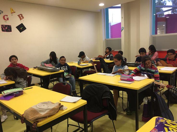 La atención que brindo es a alumnos destacados que pertenecen al programa de niñas y niños talento