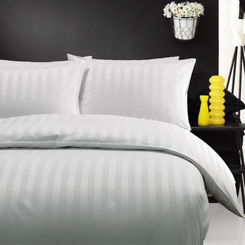 Quilt Cover - 3 cm Stripe  LUXURY  HOTEL - Hotel Supplies For Home