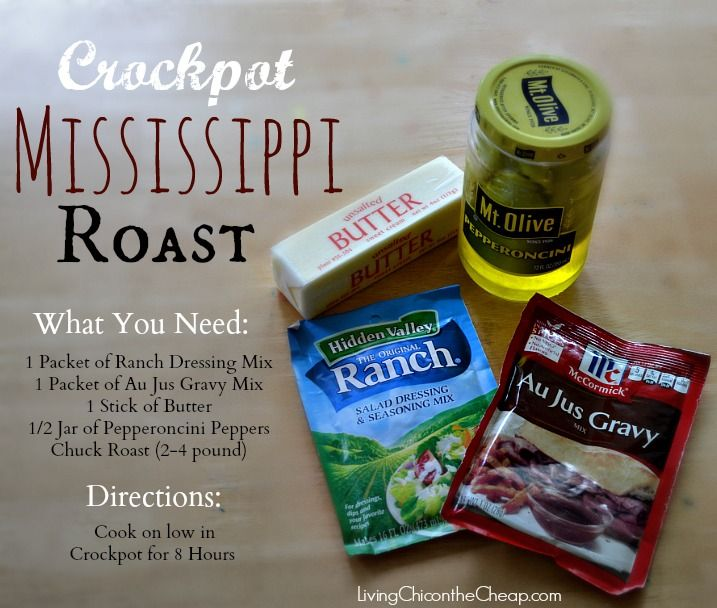 recipe: pepperoncini roast ranch dressing [31]