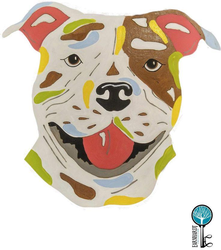 "American Staffordshire Terrier (Pit Bull) DIY Paint Your Own ""Pop Art"" Pet Kit"