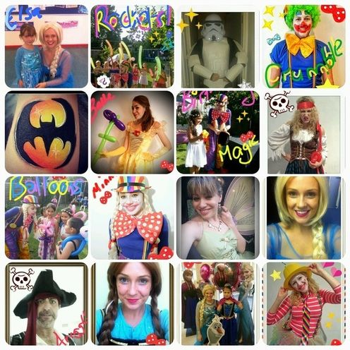 Kids Birthday Parties with the best Kids Party #Entertainers in #London & #Surrey Huzzah! http://www.minnietheclownparties.co.uk/parties.html