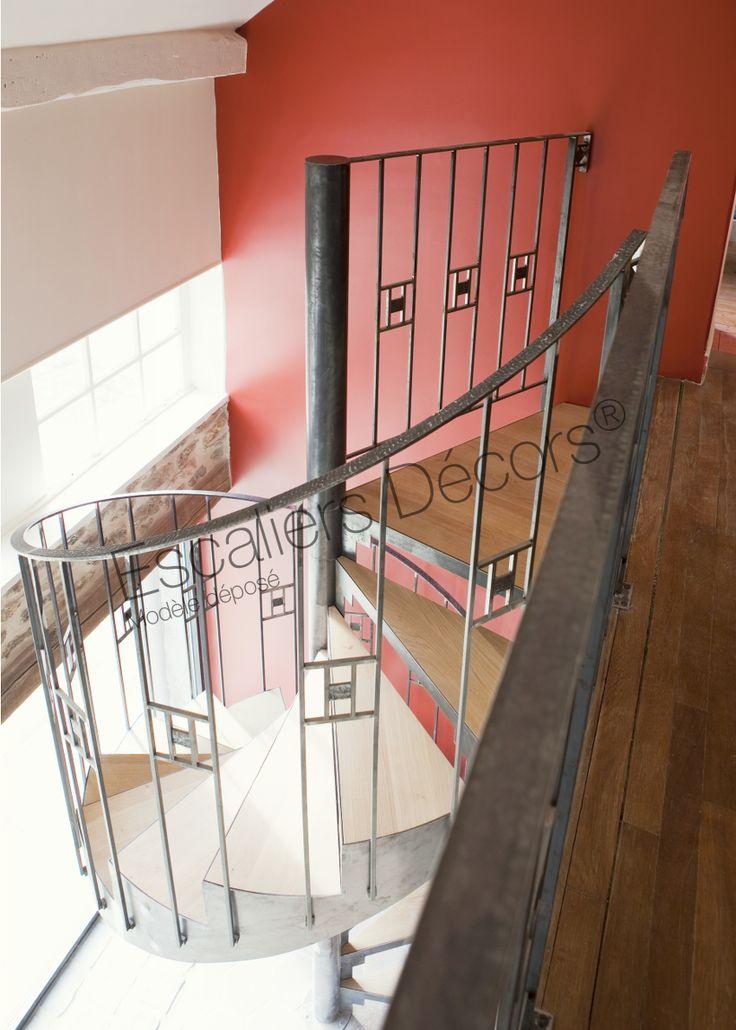 8991 best escalier d coration campagne ou maison de - Decoration escalier maison ...