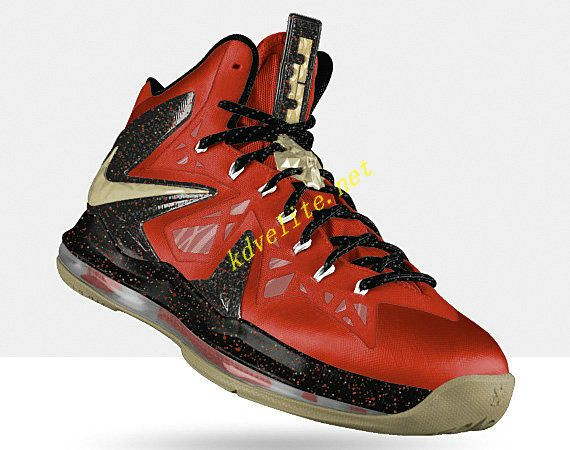 finest selection 49300 3fd03 Hight Quality Nike Zoom Lebron 9 P.S. Elite Finals Red Gold Blac