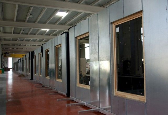 Módulos prefabricados en hormigón para el proyecto de Residencia Universitaria de la ETSA el Vallès.