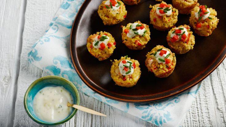 Beignets de crabe au quinoa | Zeste