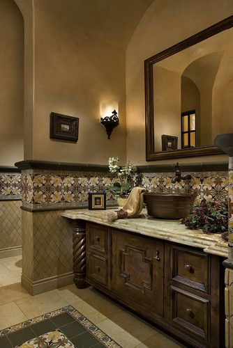 Spanish Vanity Design, Pictures, Remodel, Decor and Ideas - page 3