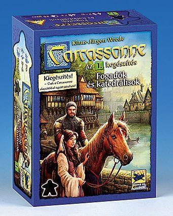 Carcassonne - 1 Fogadók és katedrálisok társasjáték - Szellemlovas társasjáték webshop