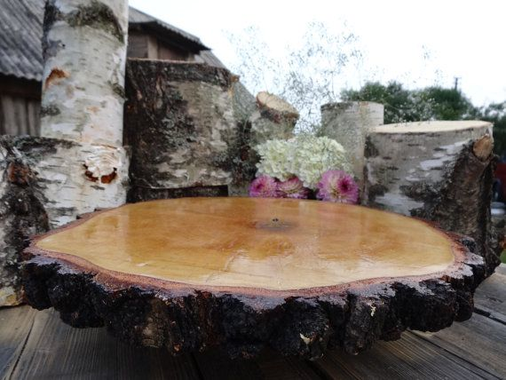 wood slab for wedding cake wood cake stand rustic cake base large tree slice 27613
