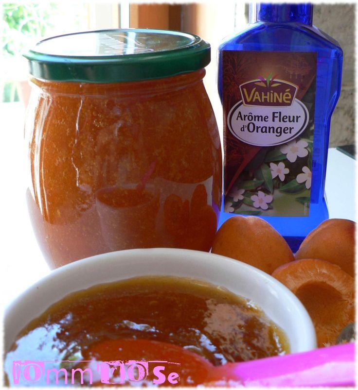Confiture d'abricots à la fleur d'oranger - Le blog de Pomm'rose
