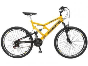 Bicicleta Colli Bike Aro 26 21 Marchas - Dupla Suspensão Freio V-Brake