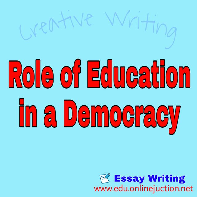 The problem with answering this question is that most people have a limited scope and understanding as to the role and purpose of education in general never mind when we start to discuss its importance in a democracy. Its the juxtaposition of articulating a clear role of education in a democracy as well as the purposes of education beyond the traditional perceptions of the citizenry as a means to unlocking doors that are expected to lead to a democracy or the sustainability thereof.  What…