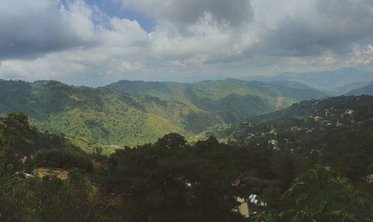View at Mines View Park. Baguio City.