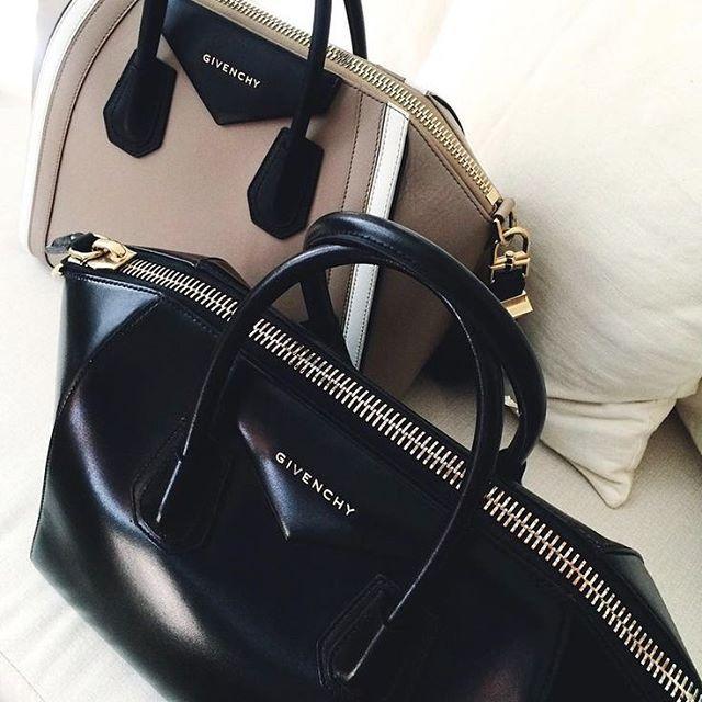 Sometimes one bag just isn't enough. #truth #givenchy : @alexadagmar