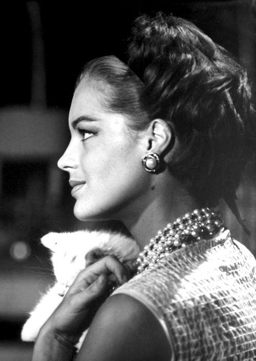 Romy Schneider, 1962.