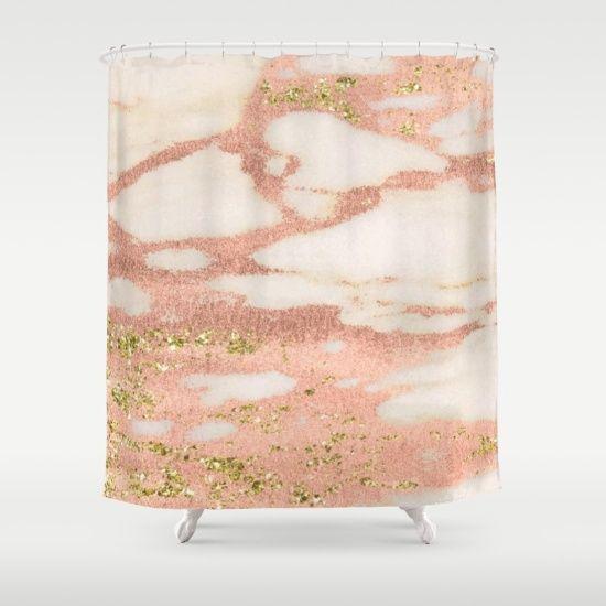Best 25 Rose Gold Shower Curtain Ideas On Pinterest