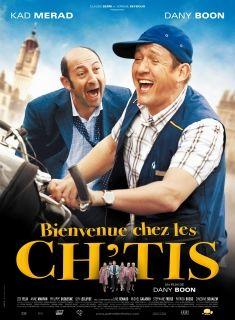 """Kassenschlager aus dem Jahr 2008 """"Willkommen bei den Sch'tis"""" (Originaltitel """"Bienvenue chez les Ch'tis"""", Pathé)"""