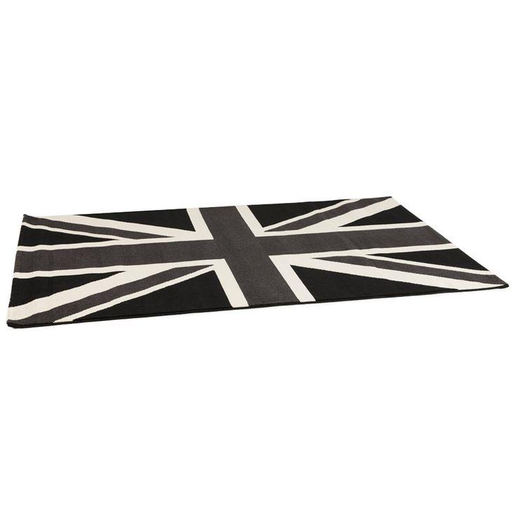 Aménagez votre sols de manière classique mais sans être trop dans la sobriété avec notre tapis de sols CIRCUS ! Il représente le drapeau du royaume-Uni dans un dégradé de gris.