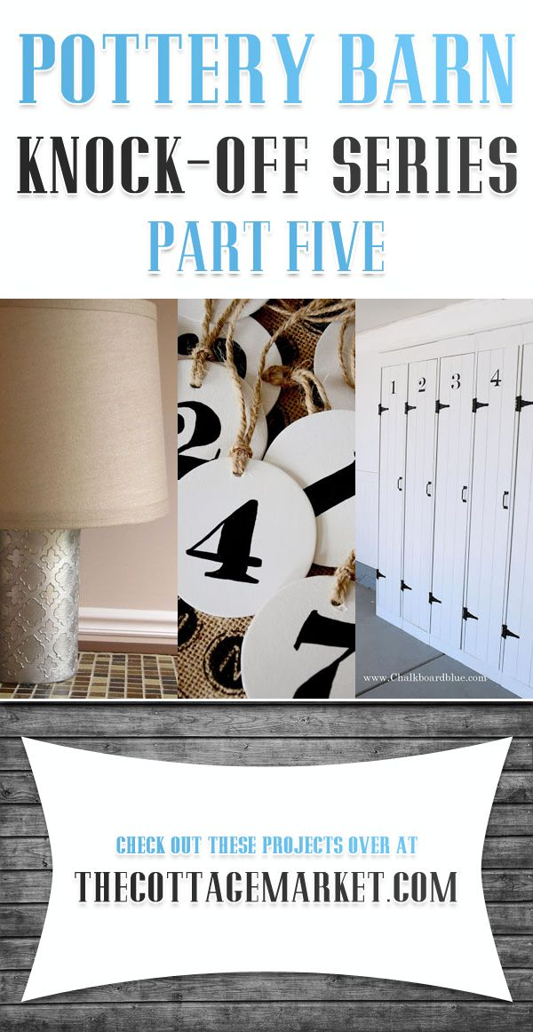 Pottery Barn Knock Off Series Part Five Getting Crafty Diy Pinterest And Home Decor