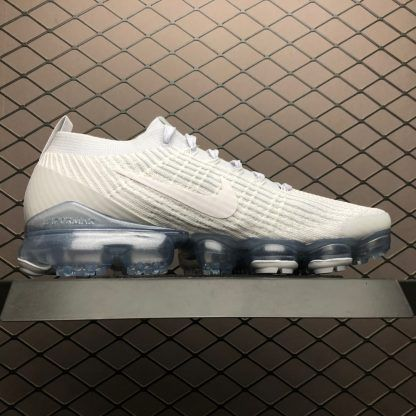 2019 Mens Womens Nike Air VaporMax Flyknit 3.0 White Trainers AJ6900-102-4 0981fb7f2
