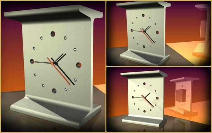 Stolní hodiny - Materiál 120 I profil :)