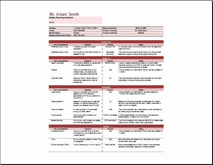 Estate Planning Worksheet Template Lovely Estate Planning Checklist Template Estate Planning Checklist Simple Business Plan Template Worksheet Template