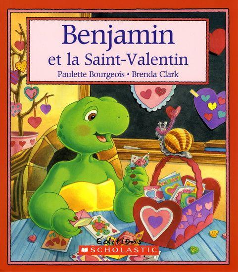 31997000768465 Benjamin et la Saint-Valentin. Le jour de la Saint-Valentin, Benjamin perd tous les valentins qu'il avait fabriqués pour ses amis, mais découvre la vraie valeur de l'amitié.