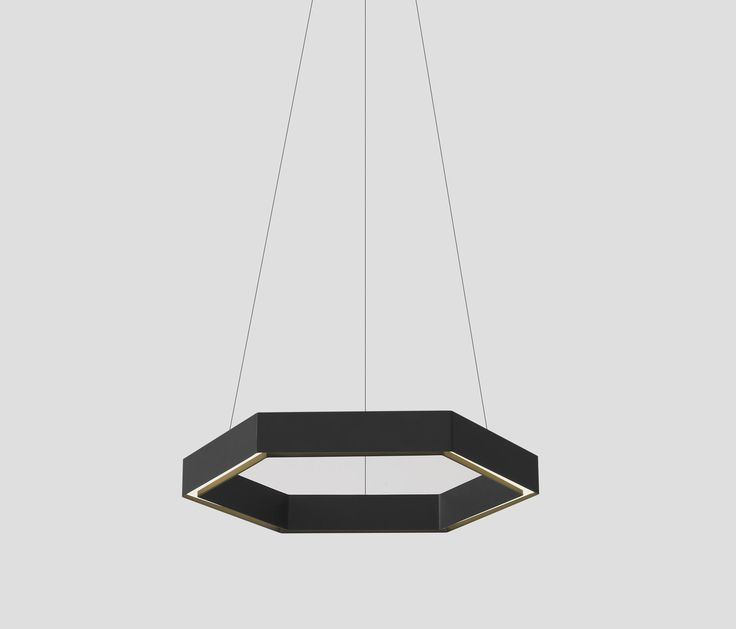 Modern lamp 51 pinterest a hexagonal shaped pendant light constructed from aluminum channel the hex pendant is a modern mozeypictures Choice Image