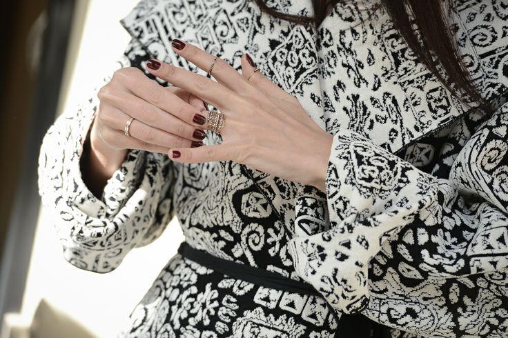 Styleheroine wearing her Apriati rings