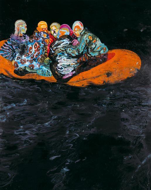 Daniel Richter painting