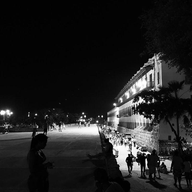 #Cartagena canto de sirena que se hizo ciudad  #nighttime in #summerland