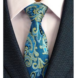 Mens New 8cm Classic Cotton Ties Fashion Retro Floral Ties Colorful Printed