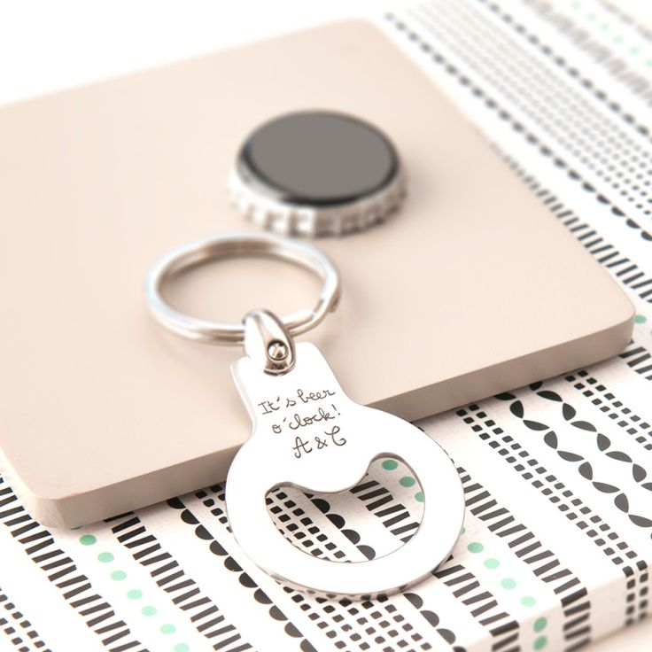 Personalised bottle opener key ring | hardtofind.