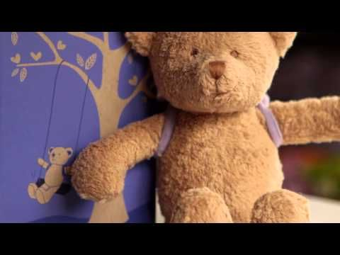 Natural and Organic, The Peaceful Explorer Bear by PartyLite™ - YouTube