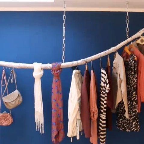 25 beste idee n over do it yourself kleiderstange op pinterest kleiderstange selber bauen. Black Bedroom Furniture Sets. Home Design Ideas