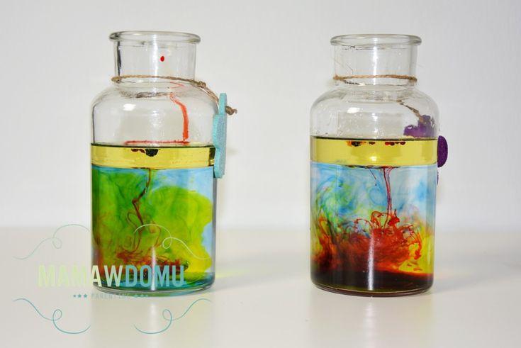 eksperyment w domu z dziećmi #water