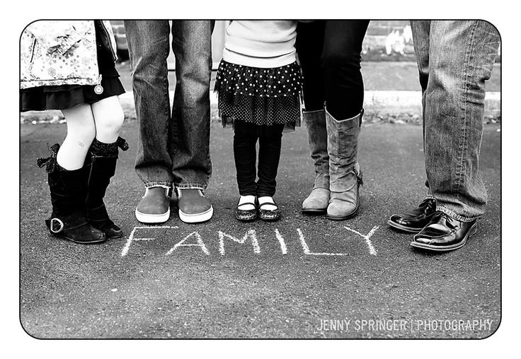 cute idea for #family shot via Jenny Springer Photography