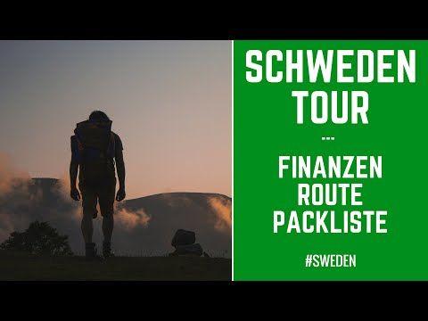 Packliste SCHWEDEN TREKKING TOUR ツ ➤ + FINANZEN & ROUTE | www.MaxGreen.Info - YouTube