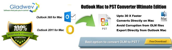 Download Best #OLM to #PST Converter for Mac.