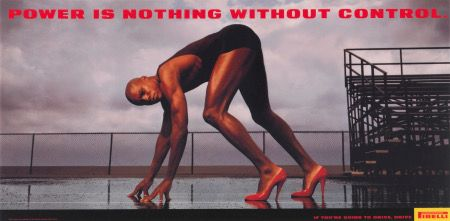 Olympic champion Carl Lewis stars in Pirelli's most famous ads from the 90s. Photography by Annie Leibovitz.