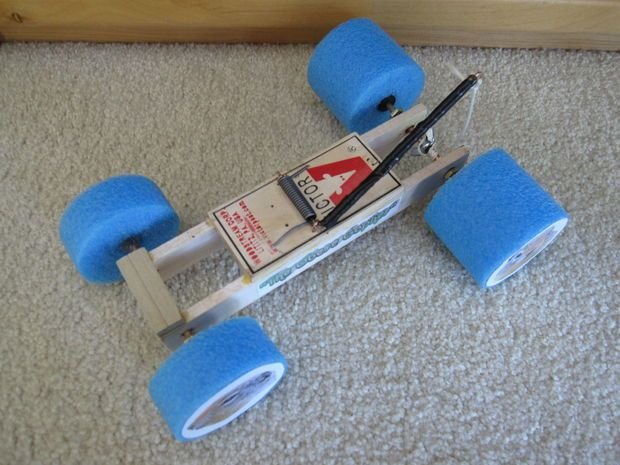 Mousetrap Car Racer